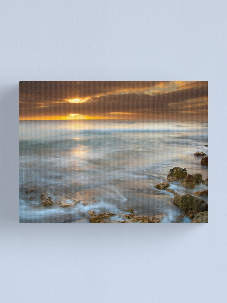 Alternate view of Where The Sun And The Sea Meet Canvas Print