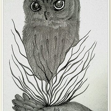 OWL EXPLOSION by sarahdallow