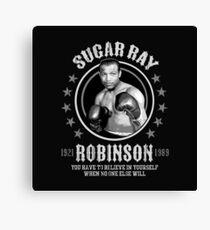 Lienzo Sugar Ray Robinson