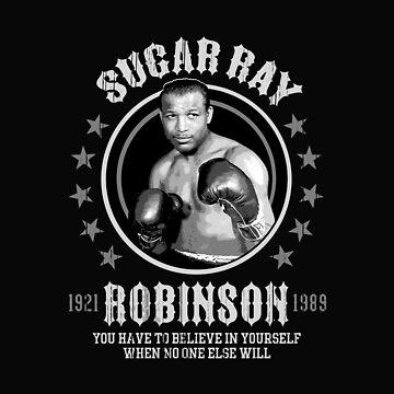 Sugar Ray Robinson by trueblue2