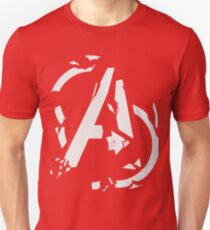 AVENGERS - CIVIL WAR SHATTERED LOGO T-Shirt