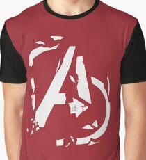 AVENGERS - CIVIL WAR SHATTERED LOGO Graphic T-Shirt