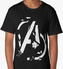 AVENGERS - CIVIL WAR SHATTERED LOGO Long T-Shirt