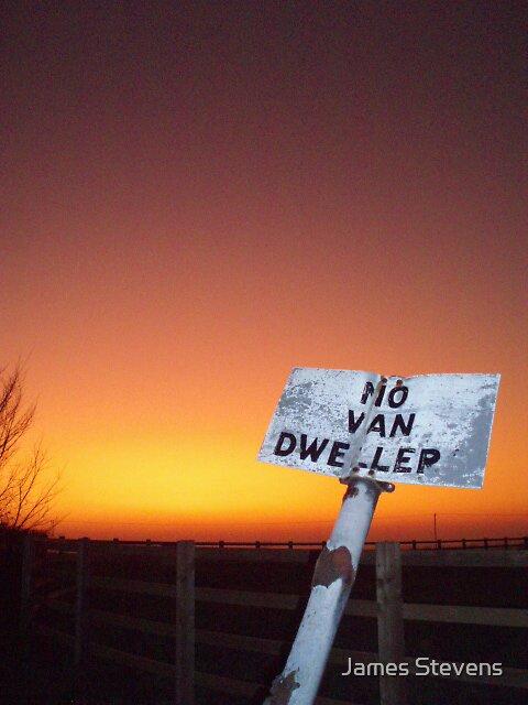 NO VAN DWELLERS by James Stevens