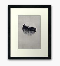 AQUA / 2 Framed Print