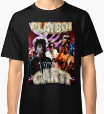 Camiseta clásica Vintage Playboi Carti Epifanía Ilícita