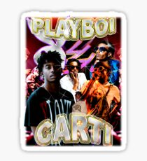 Vintage Playboi Carti Illicit Epiphany Sticker