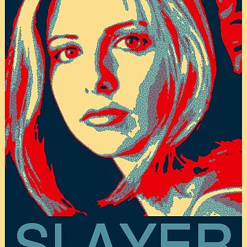 Buffy the Vampire Slayer - Obama Poster by HTWallace