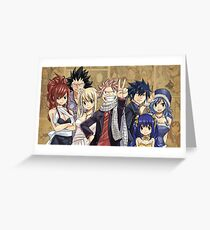 Fairy Tail Greeting Card