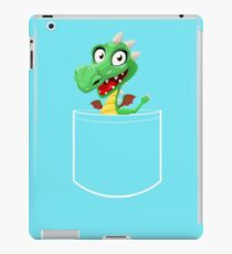 Cute Dragon T-shirt, Funny Pocket Animal iPad Case/Skin