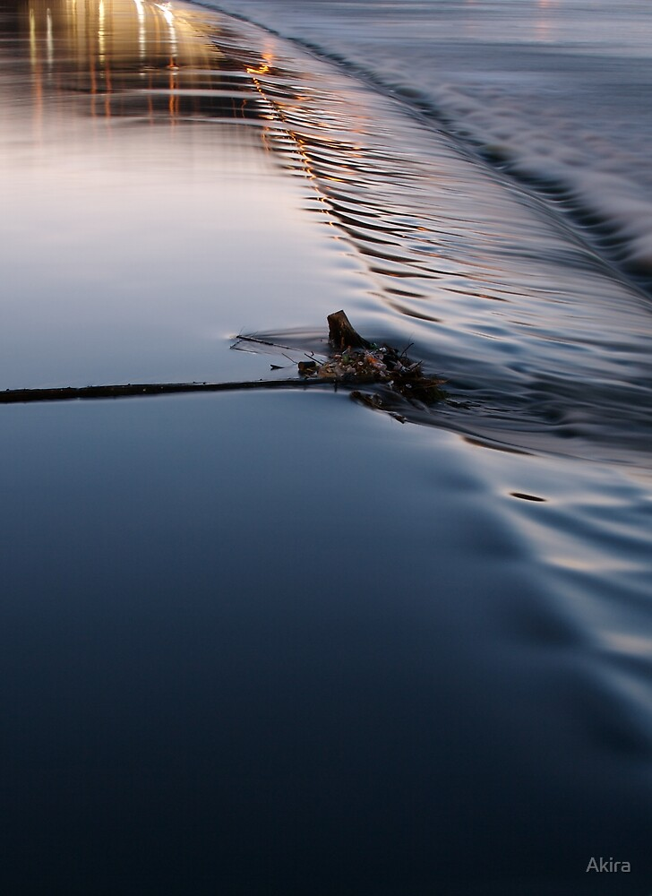 Vltava Flow by Akira