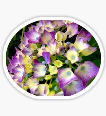 French Flowers Sticker