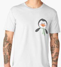 Cute Penguin T-shirt, Funny Pocket Animal Men's Premium T-Shirt