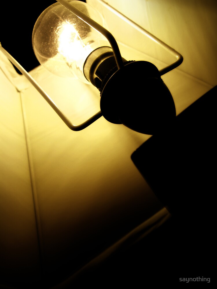 Playing with light + shadows 1 by saynothing