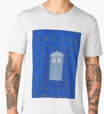 TARDIS in Flight Men's Premium T-Shirt