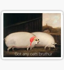 oats brother  Sticker