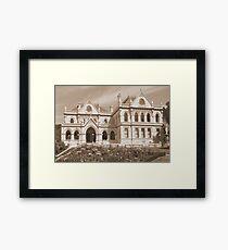 Historic House Framed Print