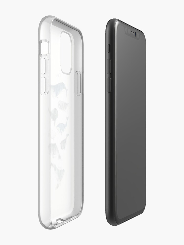 Alternate view of Whales iPhone Case & Cover