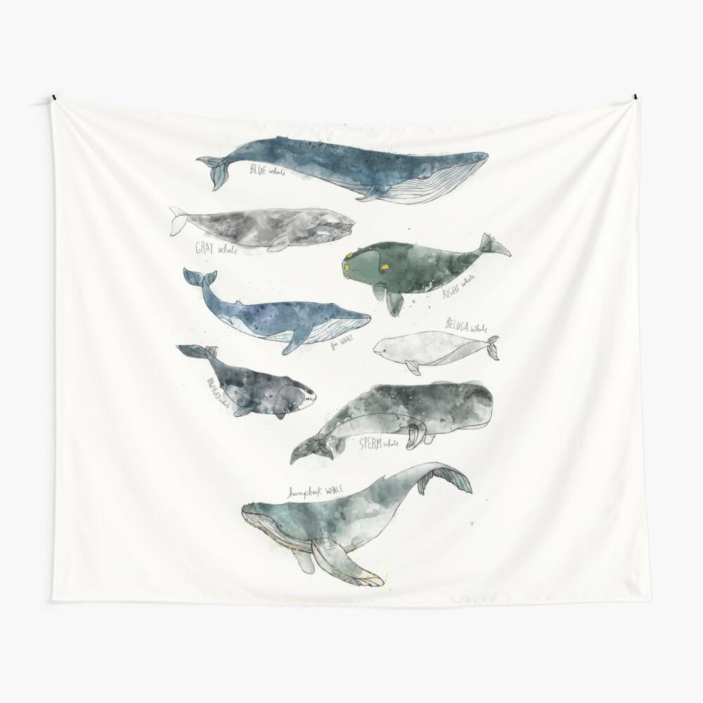 Ballenas Tela decorativa