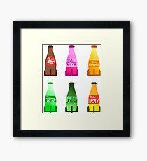 Nuka Cola Pack #3: Mix Framed Print
