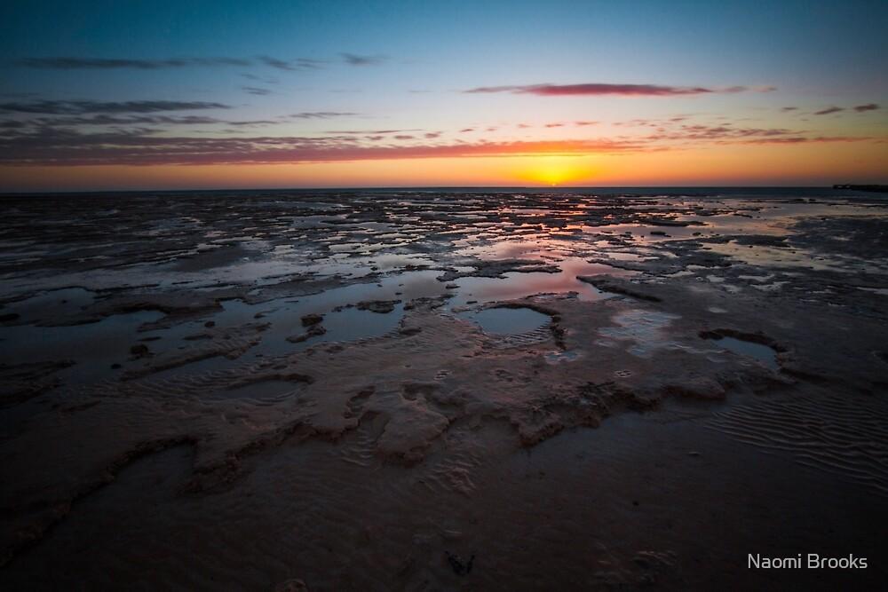 Shark Bay Sunset by Naomi Brooks