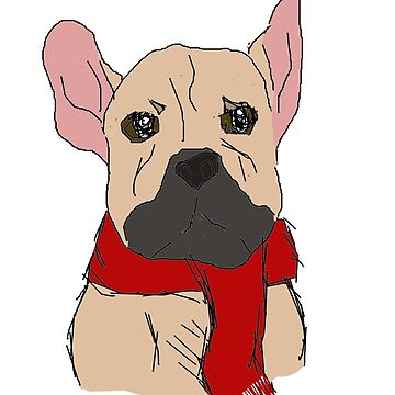 Block French Bulldog by bluelily01