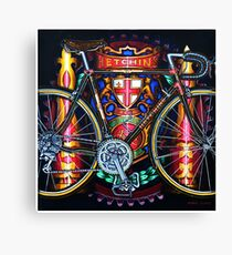 Hetchins Curly Bicycle Canvas Print