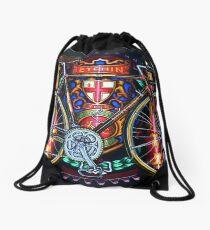 Hetchins Curly Bicycle Drawstring Bag