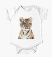Little Tiger Short Sleeve Baby One-Piece