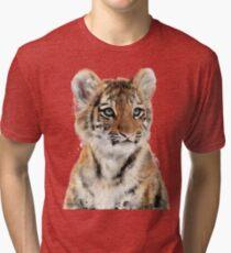 Little Tiger Tri-blend T-Shirt
