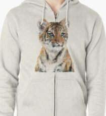 Little Tiger Zipped Hoodie
