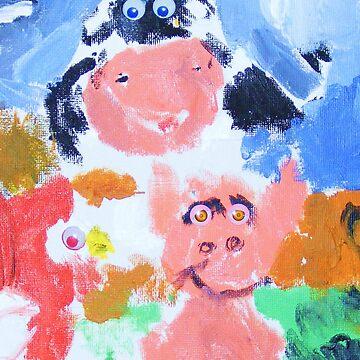 farm animals by Morgan5