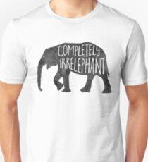 Completely IrrELEPHANT - Pun T-Shirt