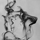 The monocled man (Ink in water) by iamelmana