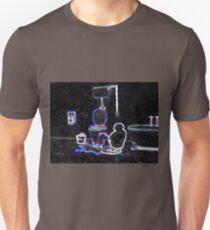 Pingu Peeing - neon glow Unisex T-Shirt