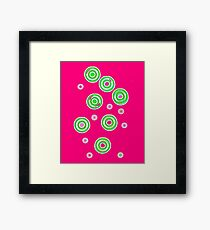 Ruby Red Ring Tones Framed Print