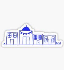 Island Stroll Sticker