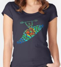 Kayak Country Women's Fitted Scoop T-Shirt