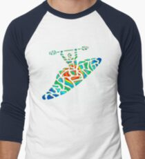 Kayak Country Men's Baseball ¾ T-Shirt