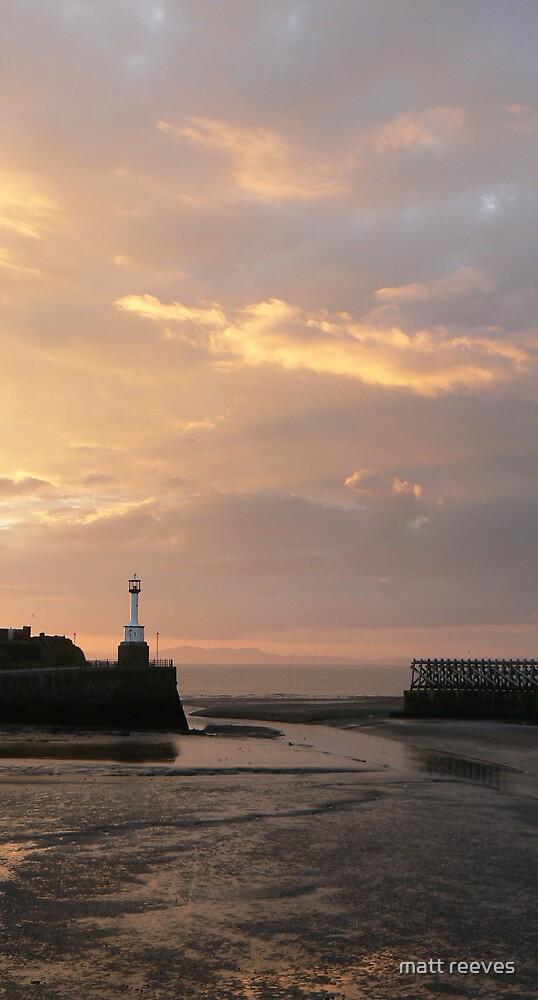 maryport sunset by matt reeves