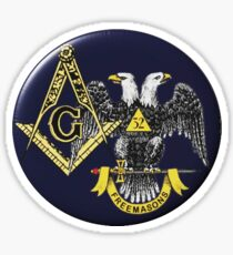 Scottish Rite Mason Sticker
