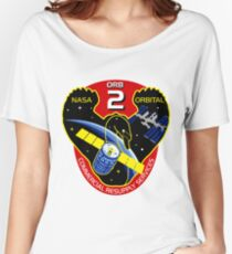 NASA: CRS Orb-2 Logo Women's Relaxed Fit T-Shirt