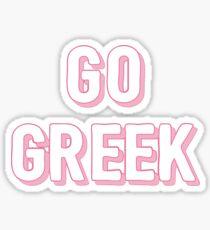 go greek Sticker