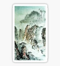 Love Poem - deep like the river in the mountains...  Sticker