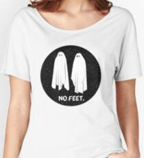NO FEET - GHOSTS Women's Relaxed Fit T-Shirt