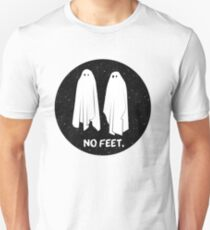 NO FEET - GHOSTS Unisex T-Shirt