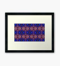 Playful Pattern Framed Print