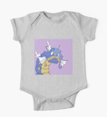Gyarados with a closed mouth One Piece - Short Sleeve