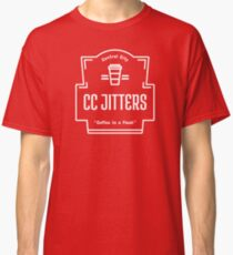 CC Jitters - Coffee In A Flash Classic T-Shirt