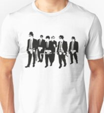 Mashup - Reservoir Dogs/A Clockwork Orange/Blues brothers Unisex T-Shirt